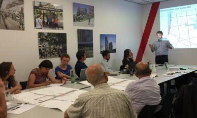 Concertation espaces publics Lyon Part-Dieu : atelier sur les déplacements cyclistes du 23 juin 2016.