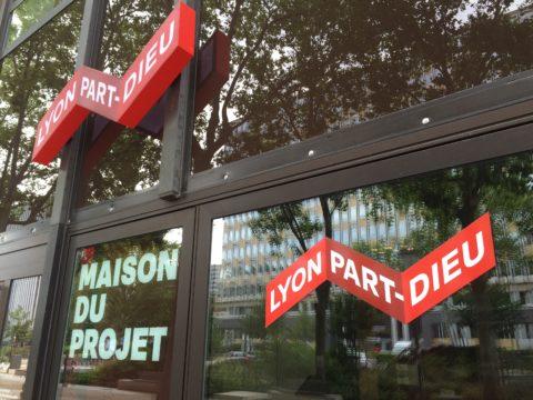 La Maison du Projet, Lyon Part-Dieu. Locaux de la Société Publique Locale Lyon Part-Dieu (SPL).