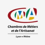 Logo de la Chambre des Métiers et de l'Artisanat, partenaires du projet Lyon Part-Dieu.