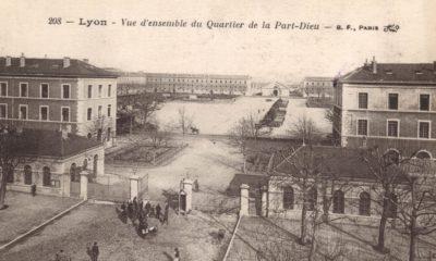 Ancienne caserne du quartier Lyon Part-Dieu, 19e siècle. © Crédits Archives du Grand Lyon.