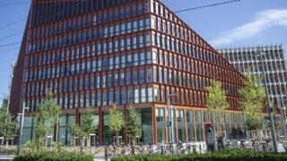 Vue du campus Orange depuis l'avenue Félix Faure