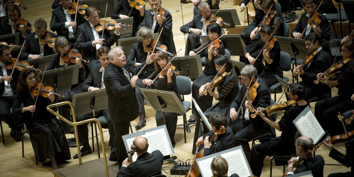 Concert d'ouverture de l'auditorium de Lyon Part-Dieu, lieu de culture musicale.