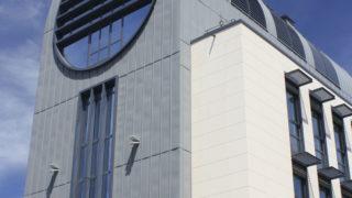 Façade de l'immeuble Edison dans le quartier des Brotteaux, opération du projet Lyon Part-Dieu