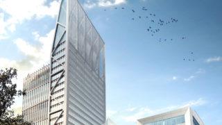 Immeuble Silex² à Lyon Part-Dieu. © Crédits Asylum / MA Architectes.