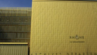 Archives départementales et métropolitaines, opération du projet Lyon Part-Dieu