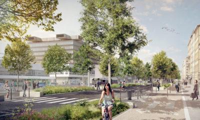 Opération Rue Garibaldi - projet Lyon Part-Dieu