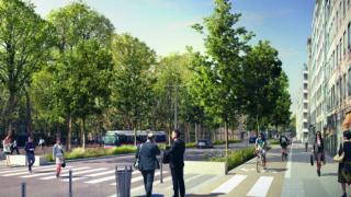 Opération rue Garibladi, place des martyrs de la Résistance, Lyon Part-Dieu.