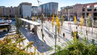 Place de Francfort - Lyon Part-Dieu