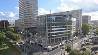 Construction de l'immeuble Silex¹ à Lyon Part-Dieu.