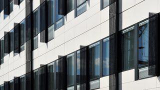 Façade Est de l'immeuble Terralta, opération du projet Lyon Part-Dieu. © Crédits Pierre Le Chatelier.