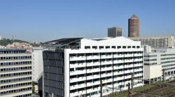 Vue générale de l'immeuble Terralta, opération du projet Lyon Part-Dieu. © Crédits Pierre Le Chatelier.