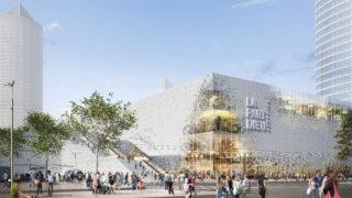 Opération centre commercial de la Part-Dieu, boulevard Vivier-Merle, Lyon Part-Dieu.