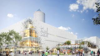 Centre commercial de la Part-Dieu, accès rue Bouchut.