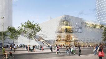 Le centre commercial de Lyon Part-Dieu.
