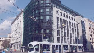 Immeuble Le Crystallin sur le boulevard Jules Fabre, opération du projet Lyon Part-Dieu