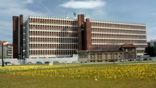 Bâtiment actuel du central téléphonique, opération Orange du projet Lyon Part-Dieu.