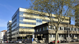 Immeuble Green Part-Dieu à Lyon Part-Dieu.