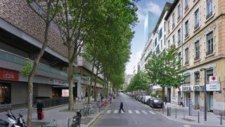 Bâtiment de l'opération Rue Deruelle du projet Lyon Part-Dieu.