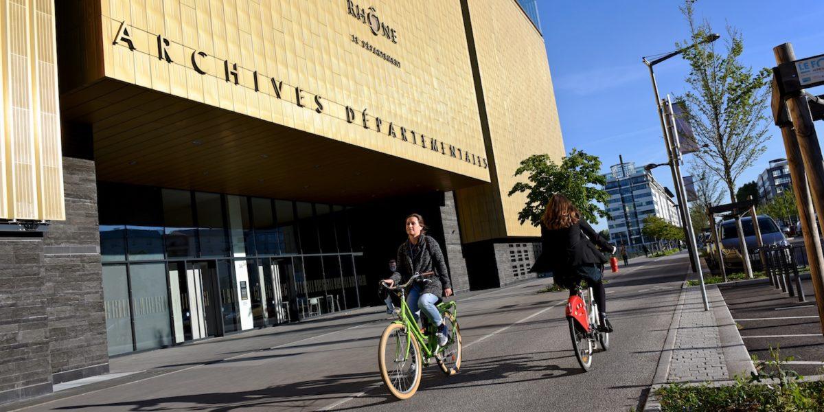 Archives départementales et métropolitaine à Lyon Part-Dieu, favoriser la culture et l'histoire. © Crédits Jean-Jacques Bernard.