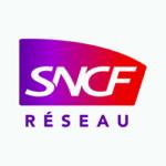 Logo de SNCF Réseau, partenaire du projet Lyon Part-Dieu.