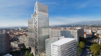 Immeuble Silex² à Lyon Part-Dieu.