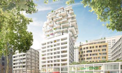 Le projet de logements Sky Avenue de Bouygues Immobilier. © Crédits Asylum.