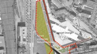 Plan d'aménagement de la rue Flandin