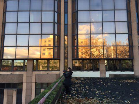 Promenades urbaines dans le quartier Lyon Part-Dieu, afin de mieux comprendre le projet de réinvention (ateliers de médiation).