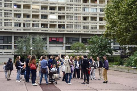 Promenades urbaines dans le quartier Lyon Part-Dieu, afin de mieux comprendre le projet et participer à sa construction.