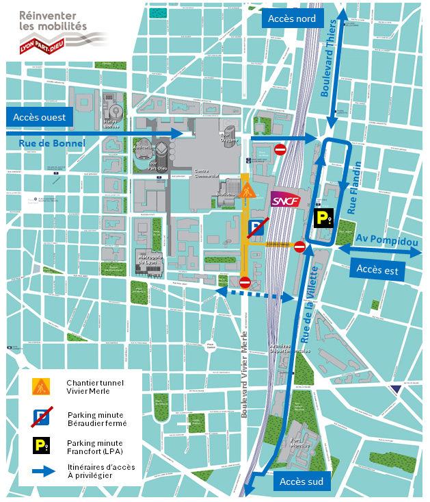 Plan Accès Parking Minute Francfort