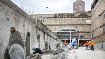 Chantier Tunnel Servient 8416