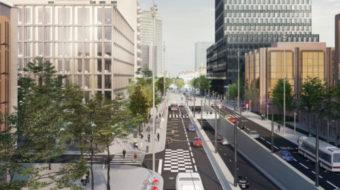 Le boulevard Vivier Merle en 2022