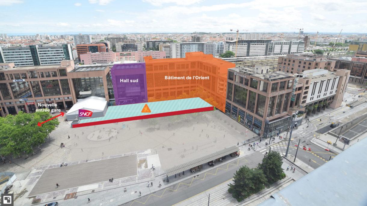 Plan Place Béraudier Juin 2018