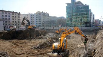 Le démarrage du chantier d'Emergence-Lafayette à Lyon Part-Dieu